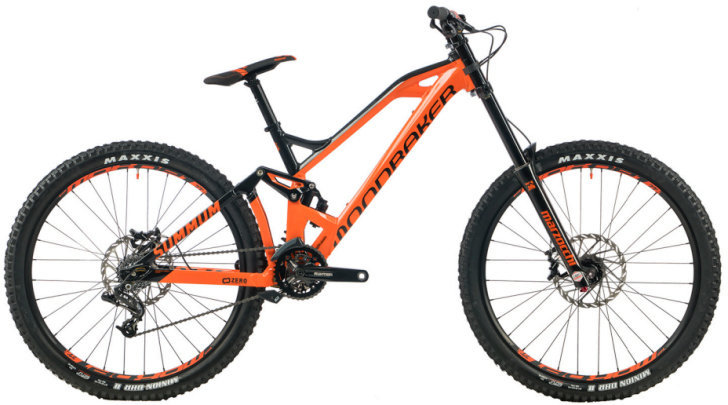 Mondraker Downhill Bike - for advanced riders