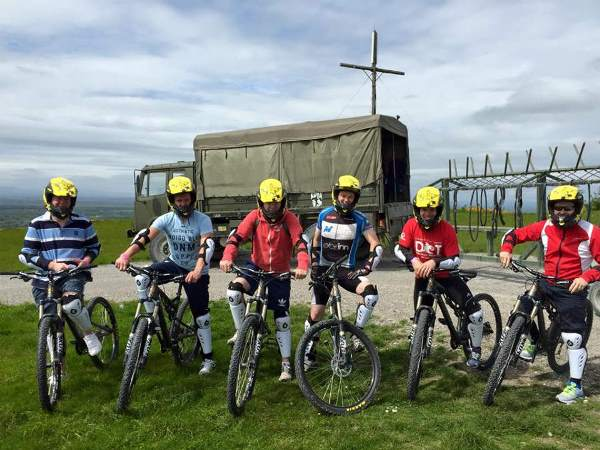 mobile Corporate Activity Fun Cycling at Bike Park Ireland